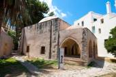 CRETE,RETHYMNO-JULY 23:Kara Musa Pasha Mosque on July 23,2014 in Rethymnon city on the Crete island, Greece. The Mosque of Kara Musa Pasha is a former Venetian building turned into a mosque. Crete. — Stock Photo