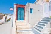 Fira architecture on the island of Thera (Santorini) in Greece. — Stock Photo