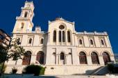 The Agios Minas Cathedral. Heraklion city on the island of Crete, Greece. — Stock Photo