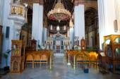 Interior of the Agios Minas Cathedral in Heraklion on the Crete island in Greece. — Stock Photo