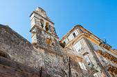 Ruins of the Venetian church in Kerkyra city on the island of Corfu, Greece. — Stock Photo