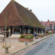 NORMANDY,FRANCE-JANUARY 8: Detail of Beuvron-en-Auge village on January 8,2013. Normandy, France. — Stock Photo #61621953
