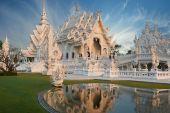 Wat rong khun, chiang rai, thailand — Stockfoto