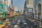 Cityscape of bangkok — Stock Photo