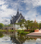 Sanphet Prasat Palace, Ancient Cityf Bangkok — Stock Photo