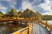 Pavilion of the Enlightened, Ancient Cityf Bangkok — Stock Photo