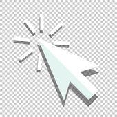 Flat coursor icon — Stock Vector