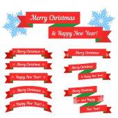 圣诞销售设置 — 图库矢量图片
