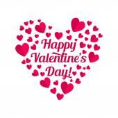 Valentines lettering — Stock vektor