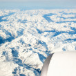 Alps aerial view from plane — Stock Photo #55748935