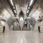 Commuters inside Southwark Station — Stock Photo #55751177