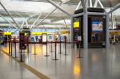 Interior's view in Stansted airport — Stock Photo