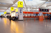 Interior's view in Stansted airport — Stockfoto