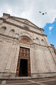 Church in Montepulciano village — Stock Photo