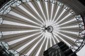 Sony Center ceiling — Stock Photo