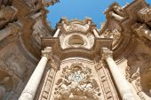 Cathedral in Valencia — Stock Photo