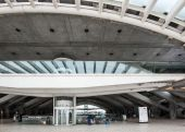 Structure detail of Oriente Station — Stock Photo