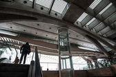 Interior of Oriente Station — Fotografia Stock