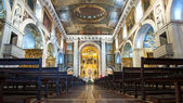 Church of Sao Roque interior view — ストック写真