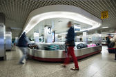 Conveyor belt in Lisbon airport — Stock Photo