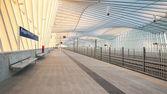 Mediopadana High Speed   Train Station — Stock Photo