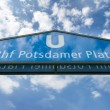 Potsdamer Platz U-bahn sign entrance. — Stock Photo #56059197