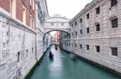 Bridge of Sighs  built in the 16th century — Stock Photo