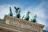 Brandenburg Tor detail. Berlin, Germany.  — Foto Stock