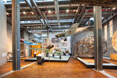 Interior view of Museum for Traffic — Stock Photo