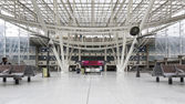 Interior view of Gare De Nord Train Station — Stock Photo