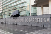 The Barcelona Museum of Contemporary Art — Stock Photo
