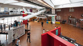 Interior view of Museum for Traffic und Technics. — Stock Photo