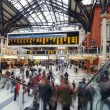 Commuters inside Liverpool Street Station. — Stock Photo #56243059