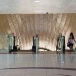 Jumeirah Lakes Tower metro station. — Stock Photo #56308343