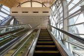 Jumeirah Lakes Tower metro station. — Stock Photo