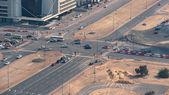Road junction in Dubai, UAE.  — Stock Photo