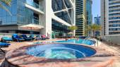 Swimming pool of Indigo Tower. — Stock Photo