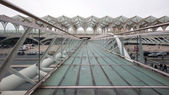 Oriente Train Station. — Stock Photo