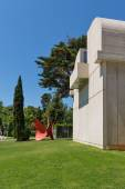 Building of Joan Miro Foundation — Photo