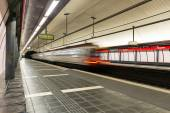 Rocafort subway station. — Stockfoto