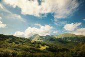Mountain scenery in the Appennini — Stock Photo