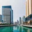 A skyline panoramic view of Dubai Marina — Stock Photo #56704363