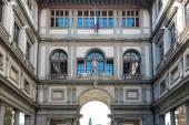 Uffizi galerisi, floransa, i̇talya. — Stok fotoğraf
