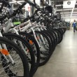 Bicycles inside Decathlon Sport Store — Stock Photo #59429169