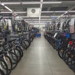 Bicycles inside Decathlon Sport Store — Stock Photo #59429187
