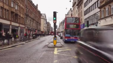 Regent St. cross. Regent Street — Stock Video