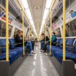 Commuters inside metro — Stock Photo #70296271
