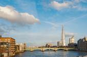 Thames river in sunny day — Stock Photo
