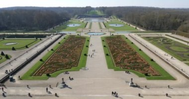 Vaux le Vicomte Castle — Stockvideo