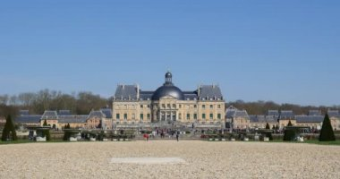 Vaux le Vicomte Castle — Stok video